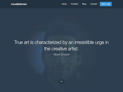 Personal Site Design site design personal site showcase portfolio