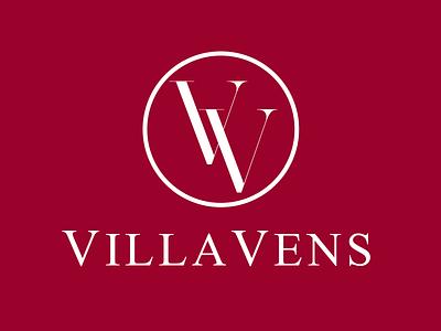 Villa Vens logo branding corporate id villa vens