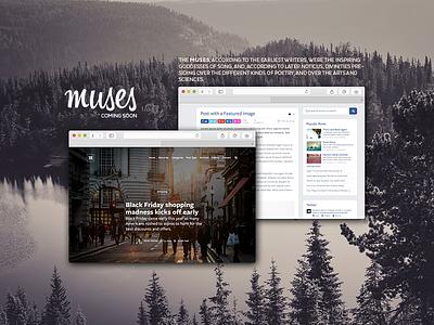Muses theme wordpress theme design webdesign muses
