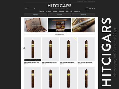 Hit Cigars design website hitcigars