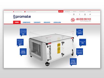 Web Design - Promate web design button ui navigation typography interface site