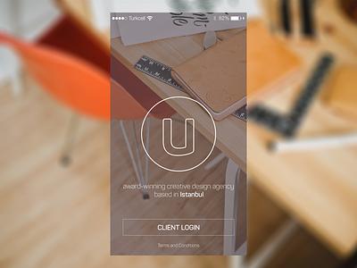Umay Ajans App mobile mobile interface app application