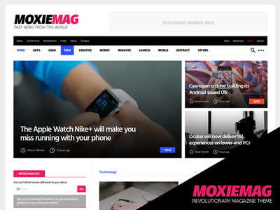 MoxieMag Revolutionary Magazine Theme wordpress technology theme fashion theme sport theme magazine theme theme wordpress theme