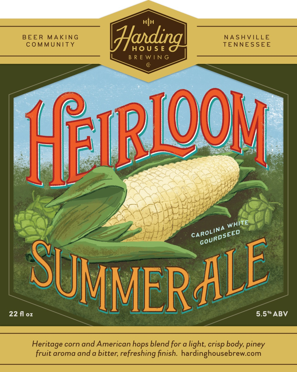 Heirloom summer ale label01