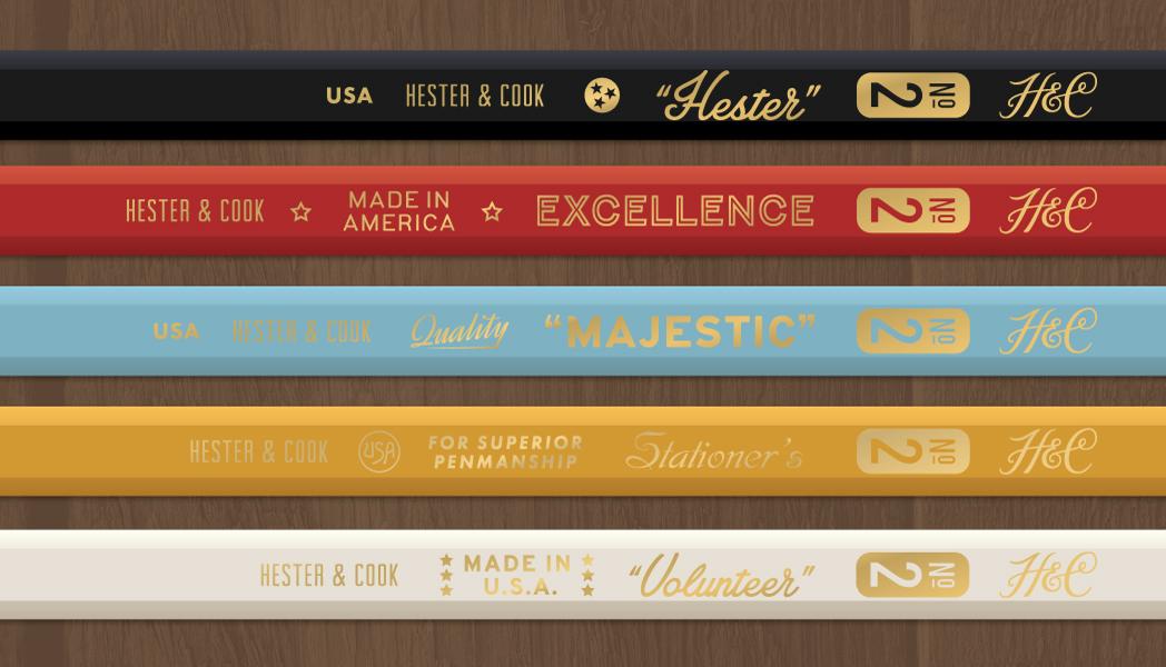 Hc pencils
