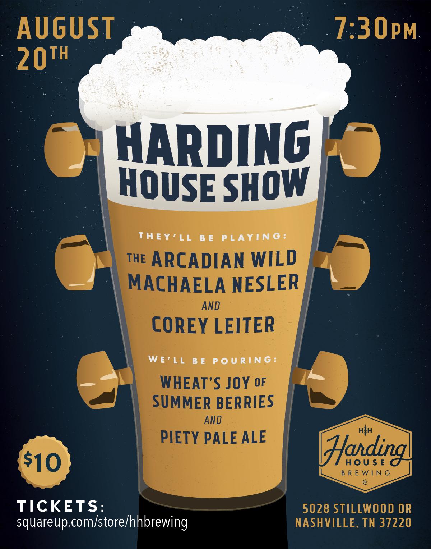 Hardinghouseshow august 20