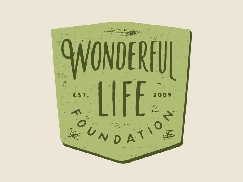 Fund raiser mug design (op. 2) hand lettering texture badge lettering