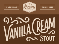 Vanilla cream stout