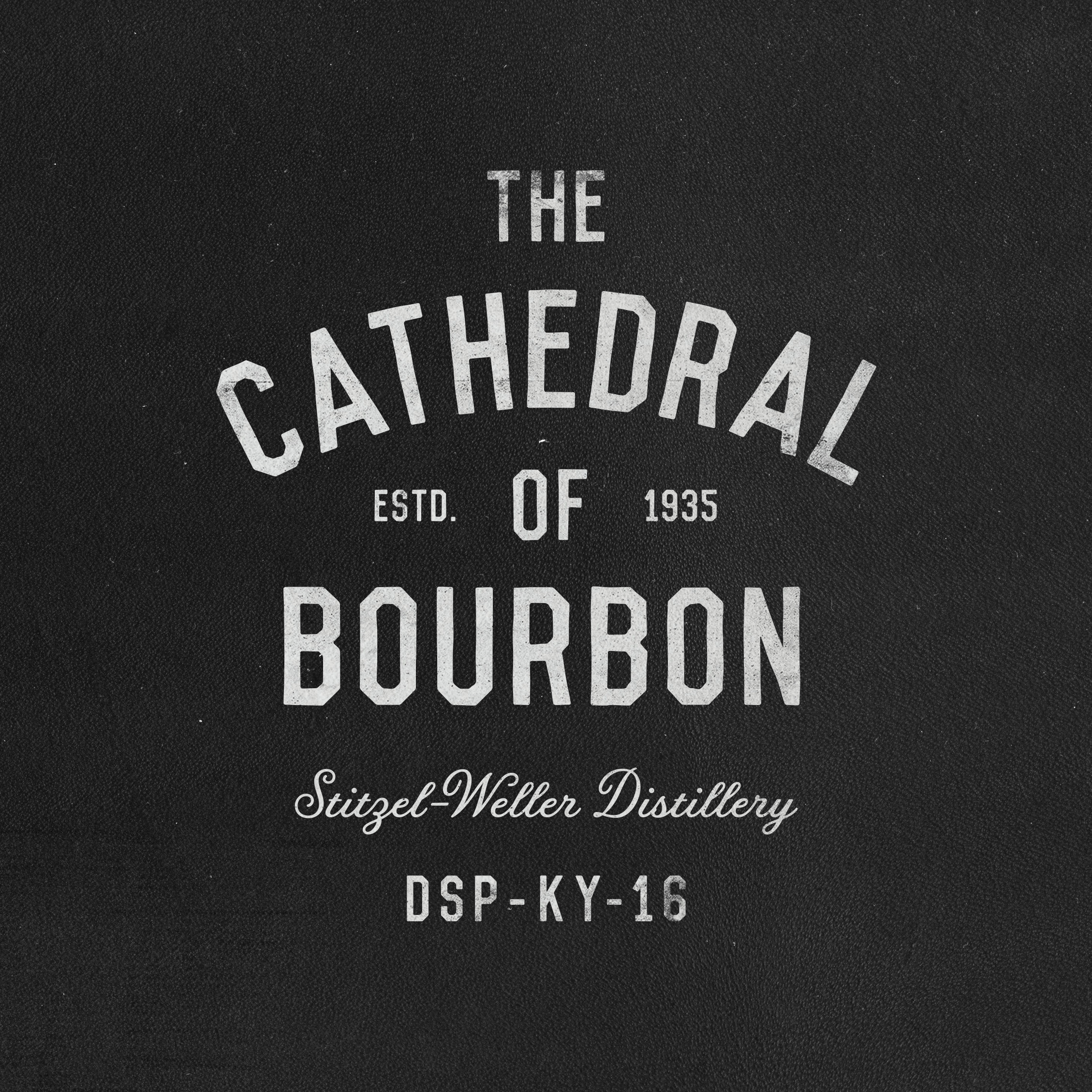 The Cathedral of Bourbon shirt pappy kentucky bourbon texture typography