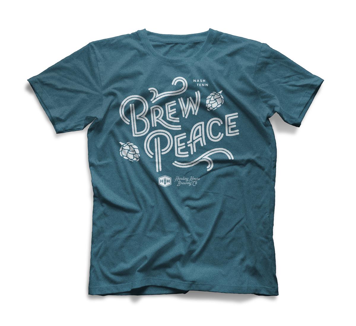 Brewpeace bc heatherdeepteal white