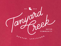 Tanyard Creek Tee WIP