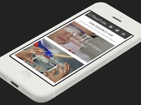 Daily Email Newsletter Template (Mobile)