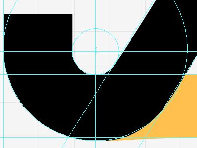 Monogram Detail logo type monogram