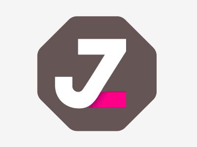 Set in a shape logo type monogram