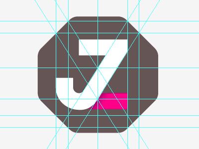 Alignment logo type monogram
