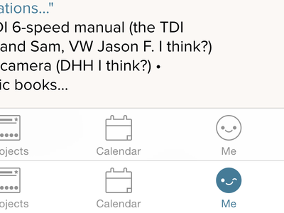 "iOS ""Me"" tab ios icon tabbar"