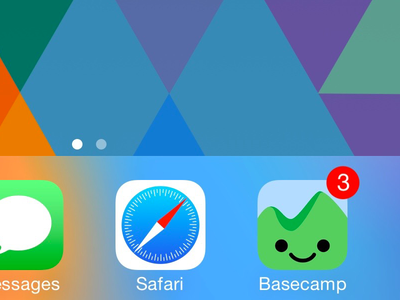 Happy 'Camper cropped ios icon basecamp
