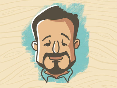 My dumb face procreate ipad pro illustration avatar