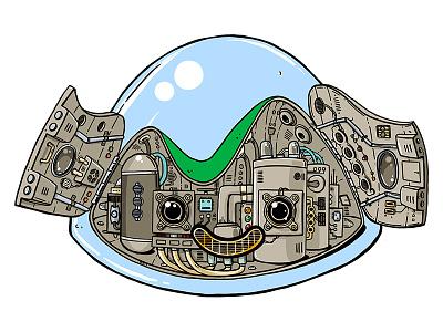 Basecamp/Ops character illustration