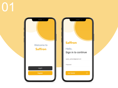 Daily UI 001 - Login mobileapp login challenge 01 daily ui