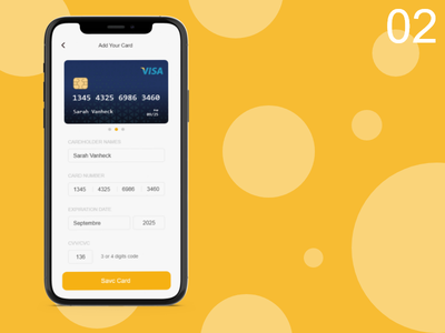 Daily UI 002 - Credit Card Checkout challenge daily ui 002 appdesign dailyui