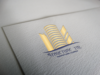 Structure Tal vector branding logo illustration design