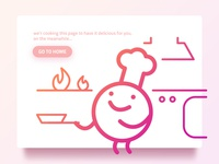 Cooking Page Illustration