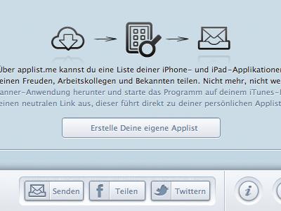 Web Interface interface design app