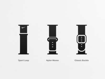 Apple Watch band icons #BandbreiteWatch icons icon apple watch band collection apple watch bands apple watch