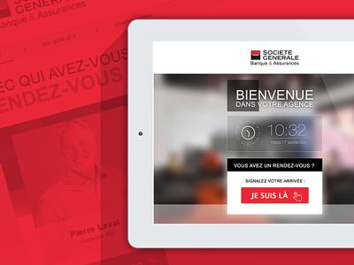 Bank application iOS - iPad