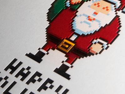 Santa dribbble