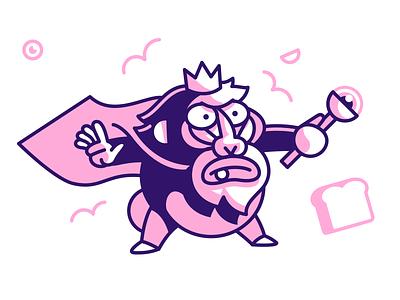 Pigsquad Shirt - KDM squad pig smoke gun jetpack character monster game art indie game illustration
