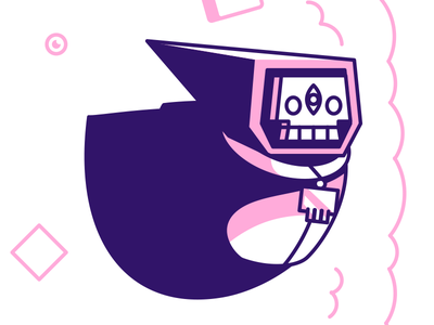 Pigsquad Shirt - Gurgamoth squad pig smoke gun jetpack character monster game art indie game illustration