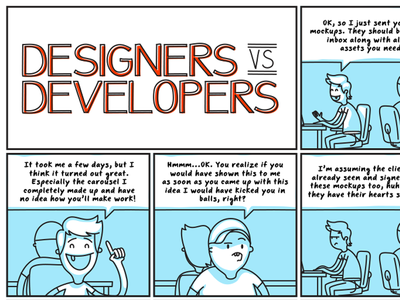 Designers Vs Developers: Issue #2