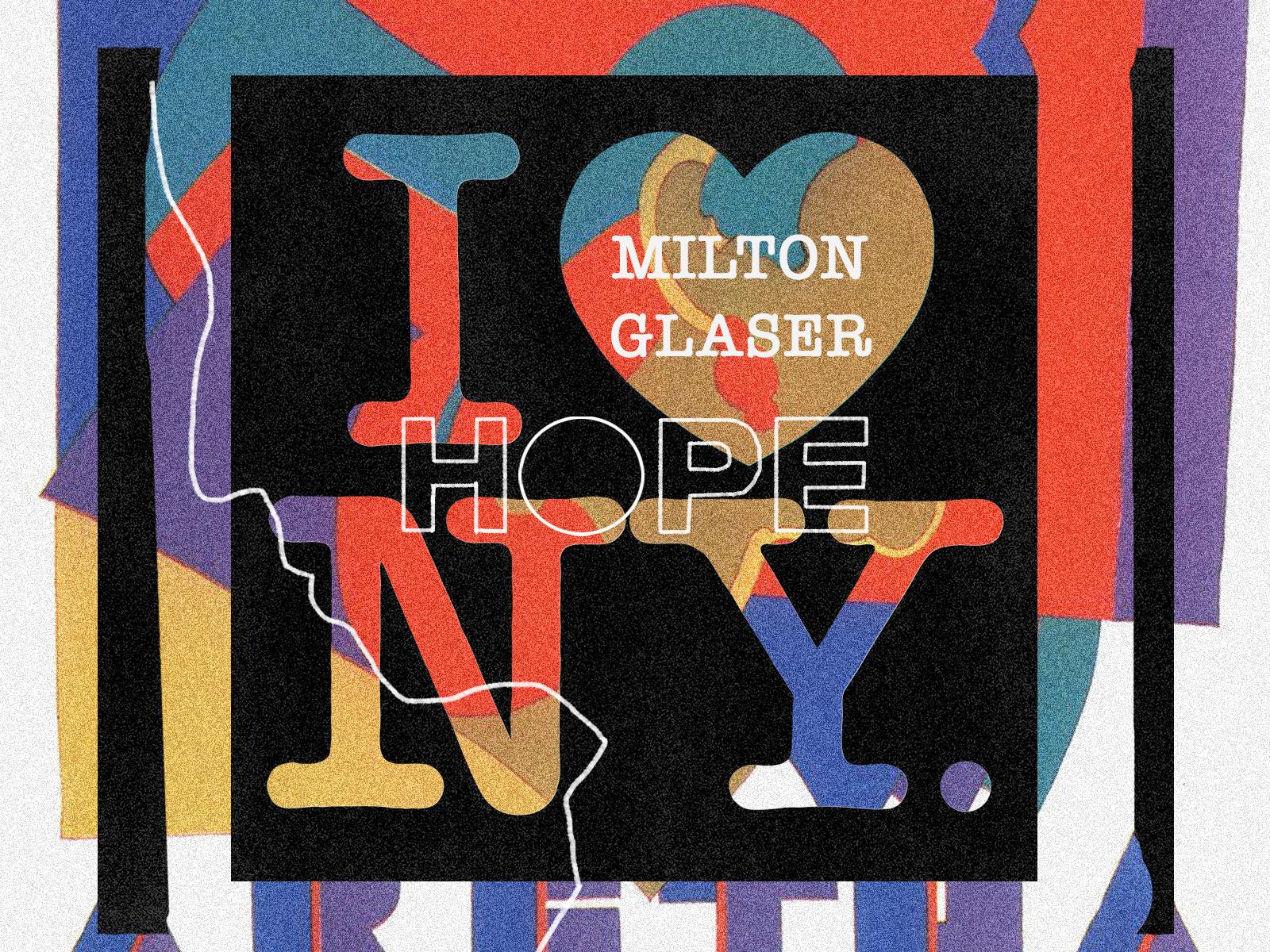 Milton Glaser Collage