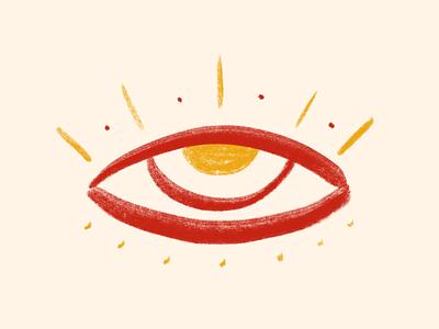 Eye eye brush digital illustration illustration artwork art