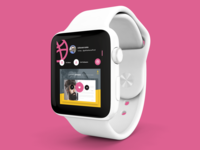 Dribbble Apple Watch App Design