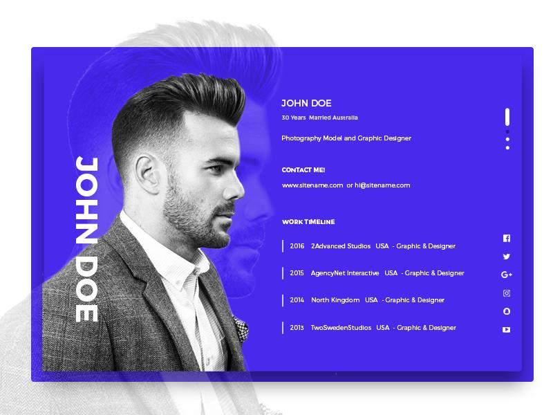 Profilebox Modal profile box design modal profilebox modal