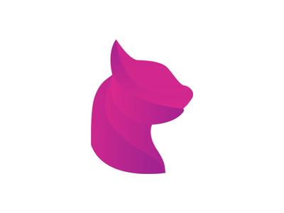 Cat Logo designer design logos logo design cat logo logo polygon cat