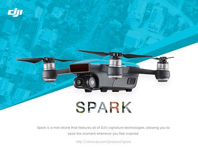 Dji Spark drone card dji spark promotion dji