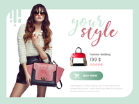 Your Style Shopping Modal
