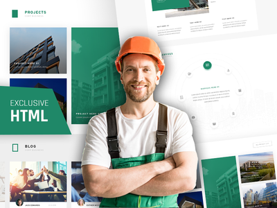 Strucflex - Responsive HTML5 Template retina ready responsive modern corporate template corporate consulting construction business architecture