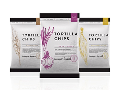 Tortilla Chips graphicdesign chips bags illustration packaging food snacks