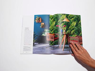 Etsy Journal graphic design print editorial layout design