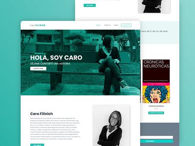 Writing Website Design figma design ux  ui minimalist books author writing elementor freelance web design wordpress minimal