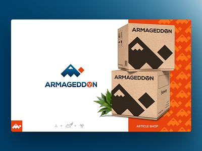 Logo Design Armageddon - Article Shop logo pack article shop creative design photoshop illustrator logo design