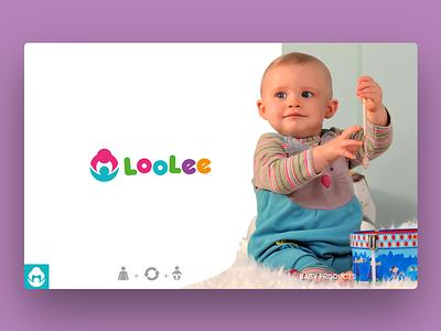 Logo Design Loolee - Baby Products baby clothes logo shop photoshop illustrator logo design