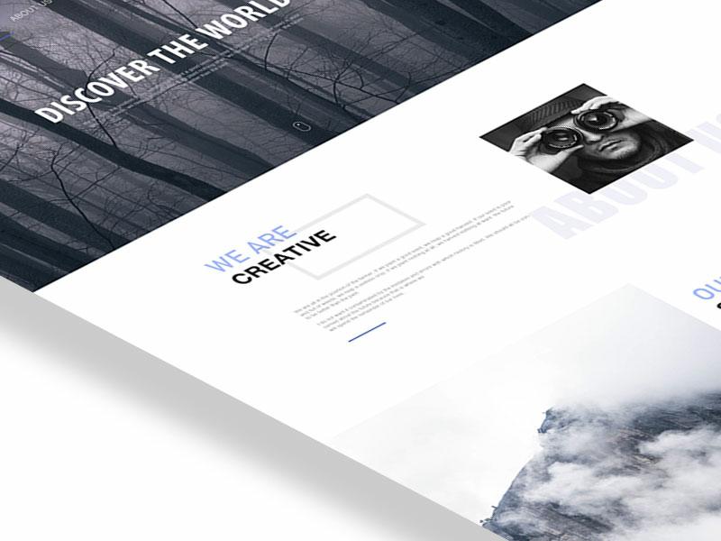 Webdesign Photo web design ui  practice ui