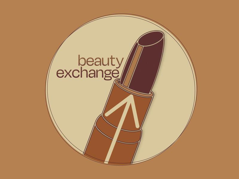 Beauty Exchange Logo design illustration custom illustration company design branding logo company logo