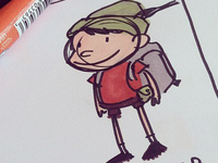Pinoccio - Scout character